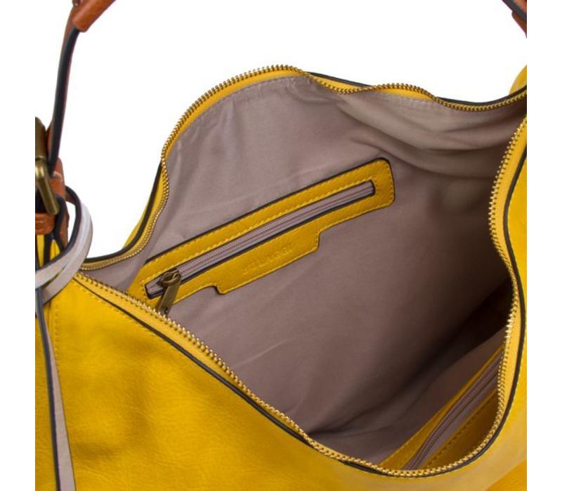 Hobo shoulder bag Bowie (yellow)