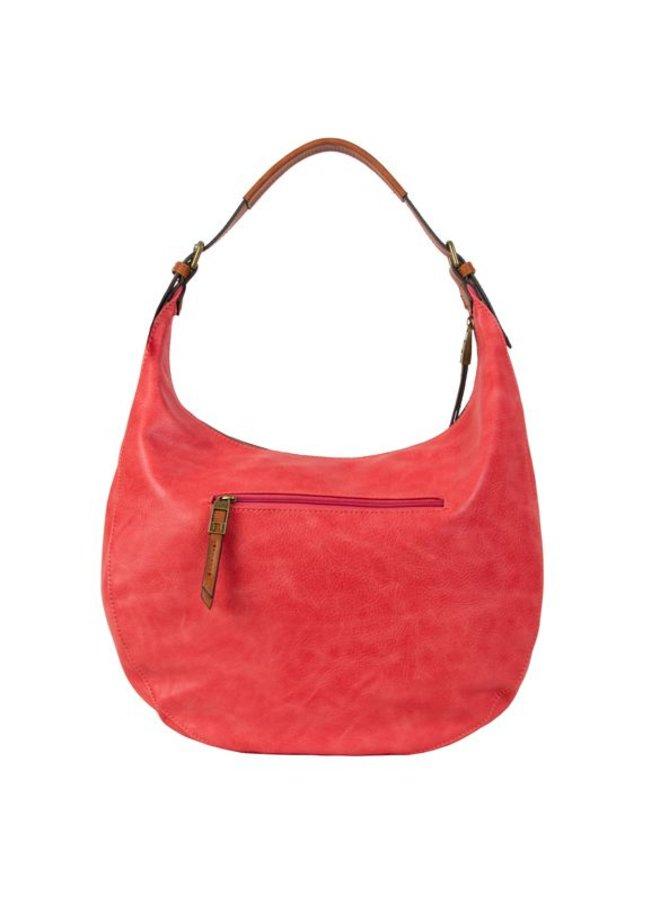 Hobo shoulder bag Bowie (peach)