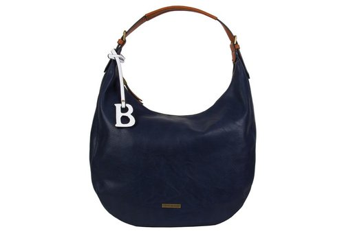 Hobo shoulder bag Bowie (dark blue )
