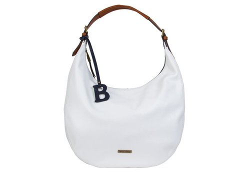 Hobo shoulder bag Bowie (white)
