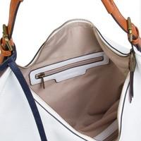 Hobo shoulder bag Bowie (white)