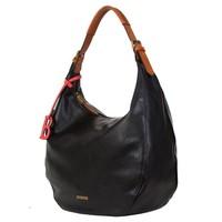 Hobo shoulder bag Bowie (black)