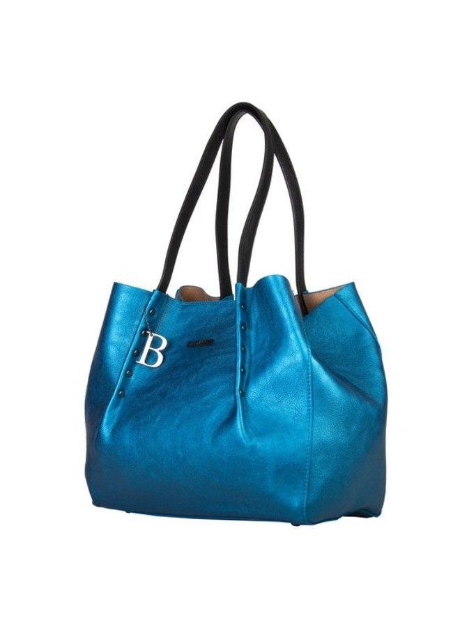 Shopping bag Joan (blue)