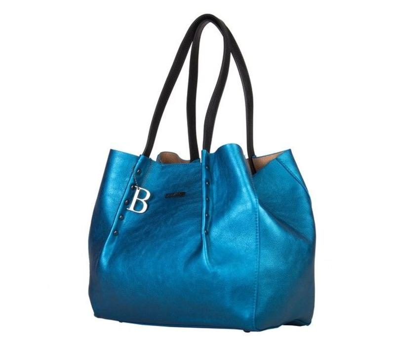 Shopping bag Joan (blue)