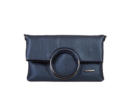 Clutch bag Stacey (dark blue )