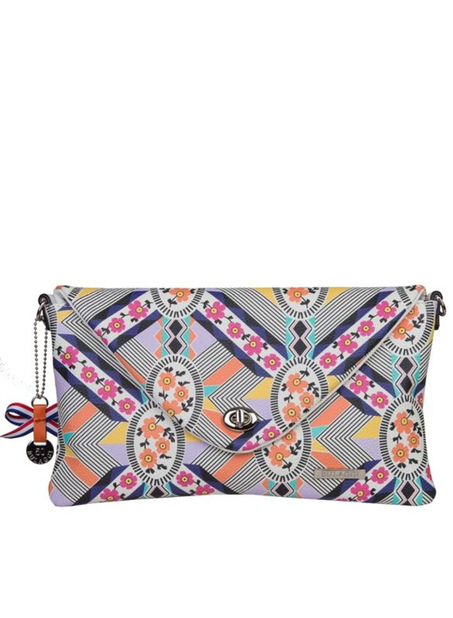 Clutch bag Annemarieke (multi colour)