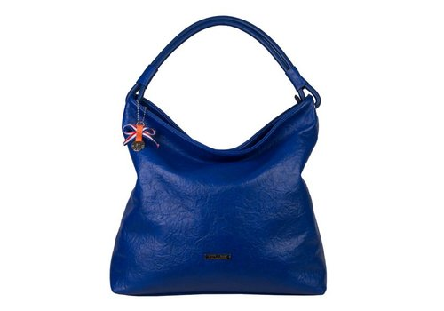 Hobo Shoulder bag Sabrina (cobalt blue)