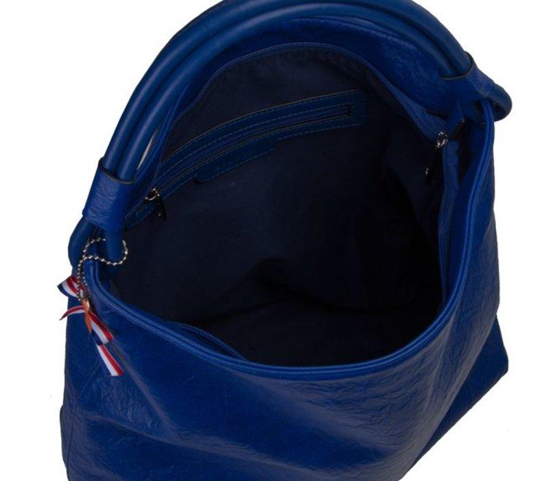 Hobo Shoulder bag Sabrina (cobalt blue)