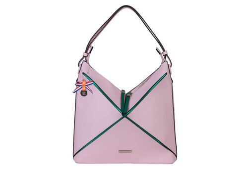 Hobo Shoulder bag Lobke (dusty pink)