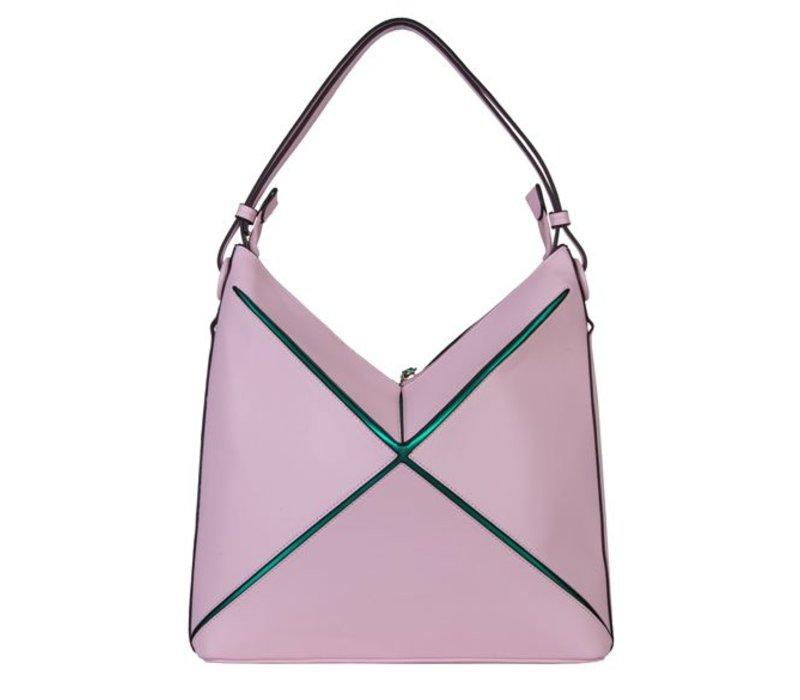 Hobo Shoulder bag Lobke (dusty pink)
