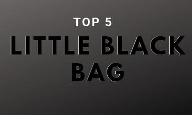 Onze 5 favoriete 'little black bags'