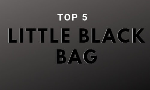 Top 5 favourite little black bags