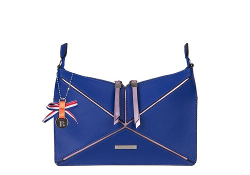 Clutch bag Lobke (cobalt blue)