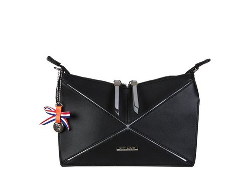 Clutch bag Lobke (black)