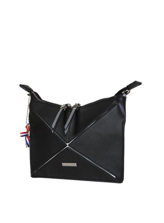 Clutch bag Lobke (black)