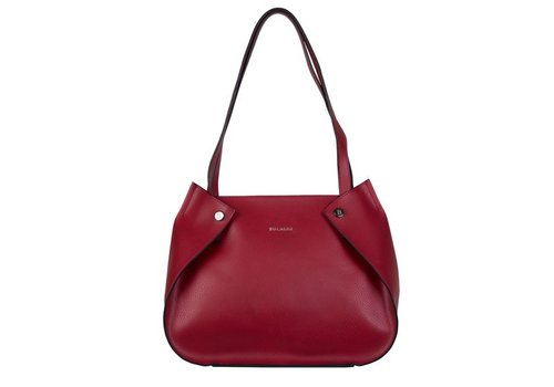 Shopping bag Oleana (red)