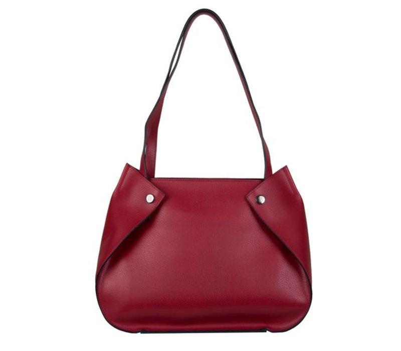 Shopping bag Oleana (red)