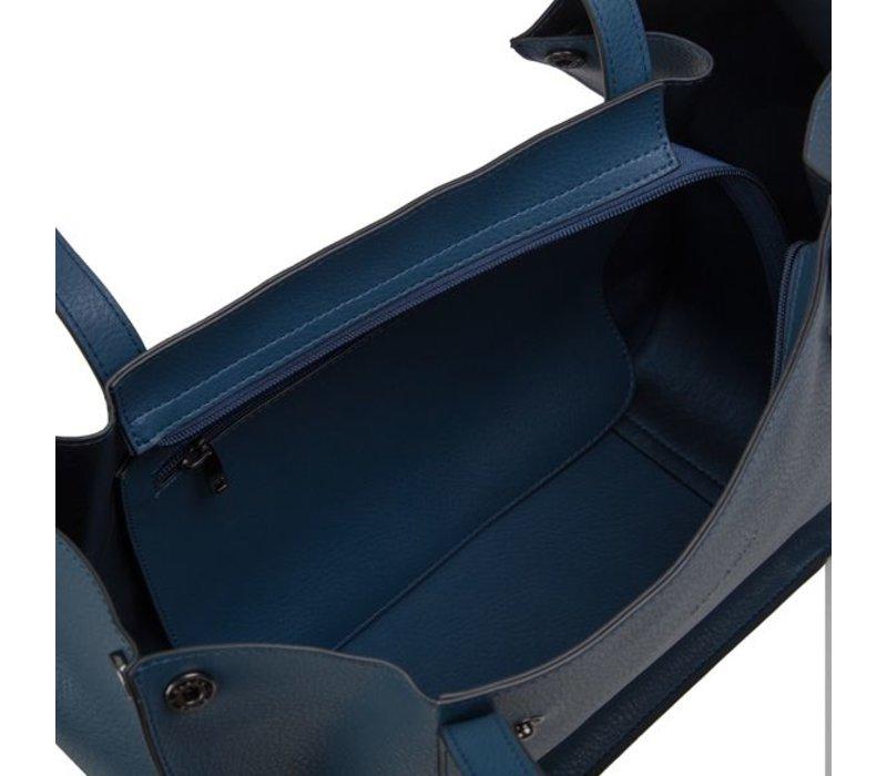 Shopping bag Oleana (blue)