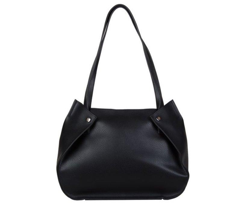 Shopping bag Oleana (black)