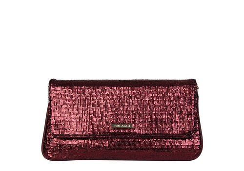 Clutch Calla (bordeaux rood)