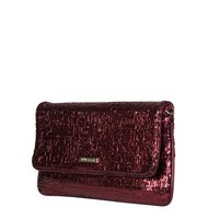 Clutch bag Calla (burgundy red)