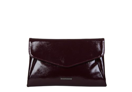Clutch bag Acacia (burgundy red)