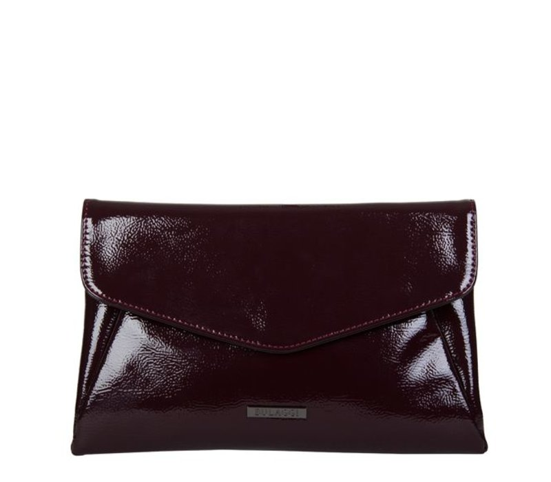 Clutch Acacia (bordeaux rood)