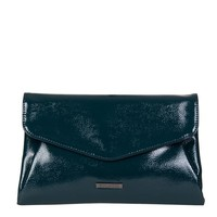 Clutch bag Acacia (emerald green)