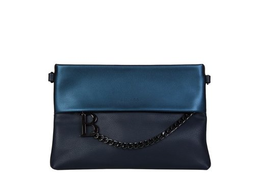 Clutch bag Abelia (dark blue )