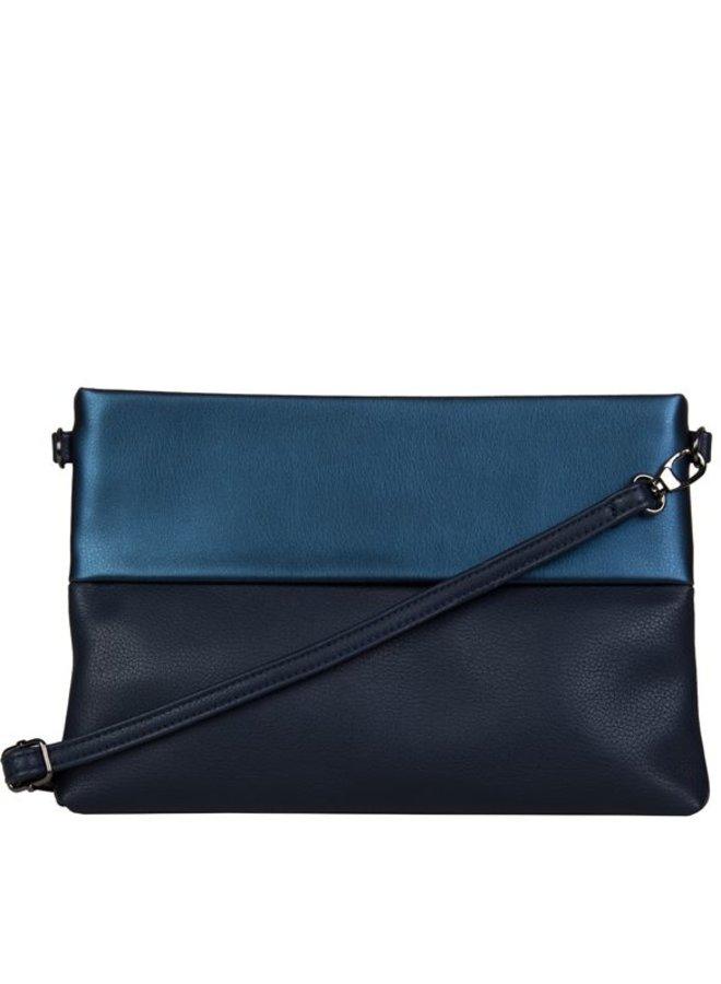 Clutch bag Abelia (dark blue )