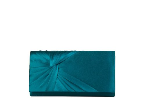 Clutch bag Twiggy (emerald green)