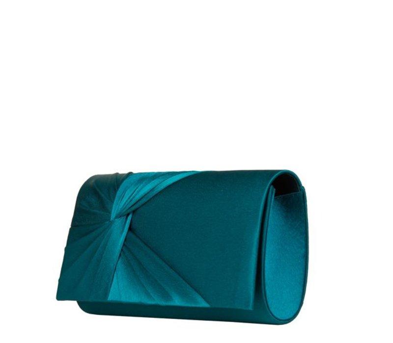 Clutch bag Twiggy (emerald green)