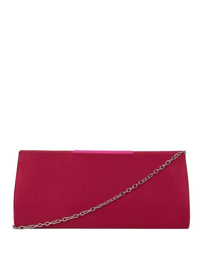 Envelope Aimy (burgundy red)