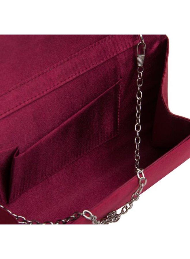 Envelope Aimy (bordeaux rood)