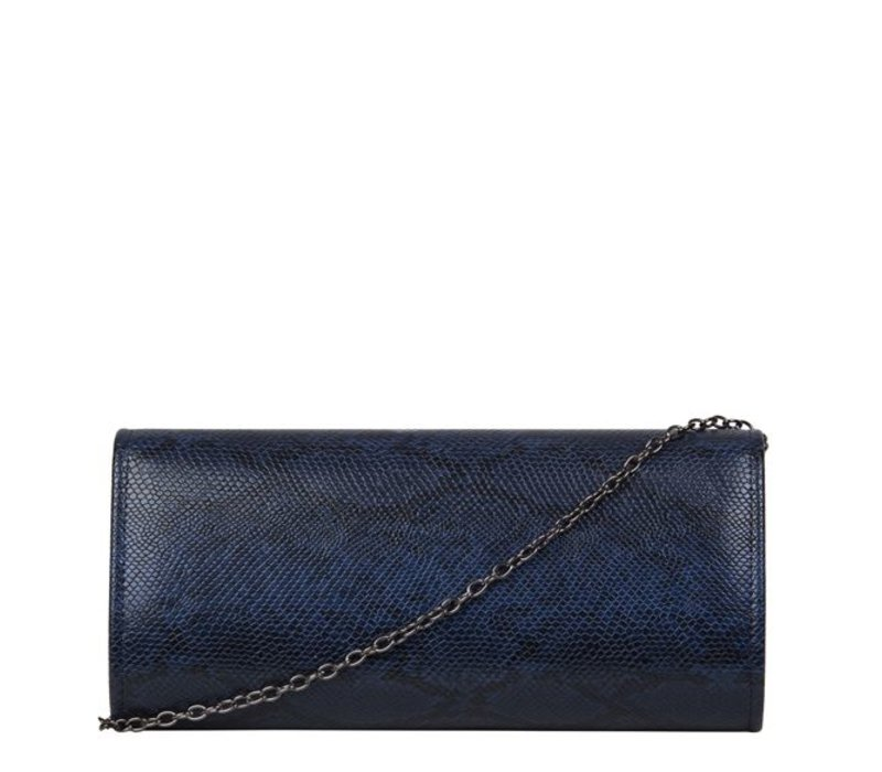Clutch bag Phoebe (dark blue )