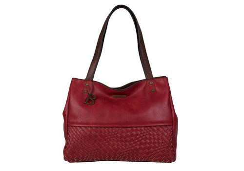 Shopping bag Bryon (red)
