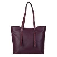Shopping bag Senna (burgundy red)