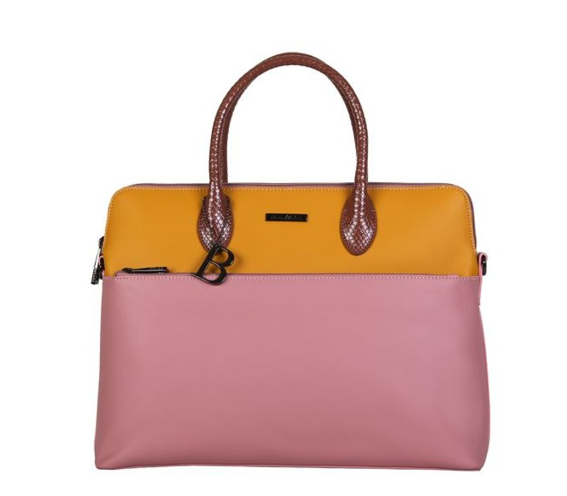 Laptop bag Abby (dusty pink)