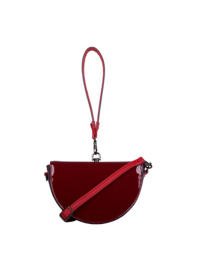 Handbag Lily (burgundy red)