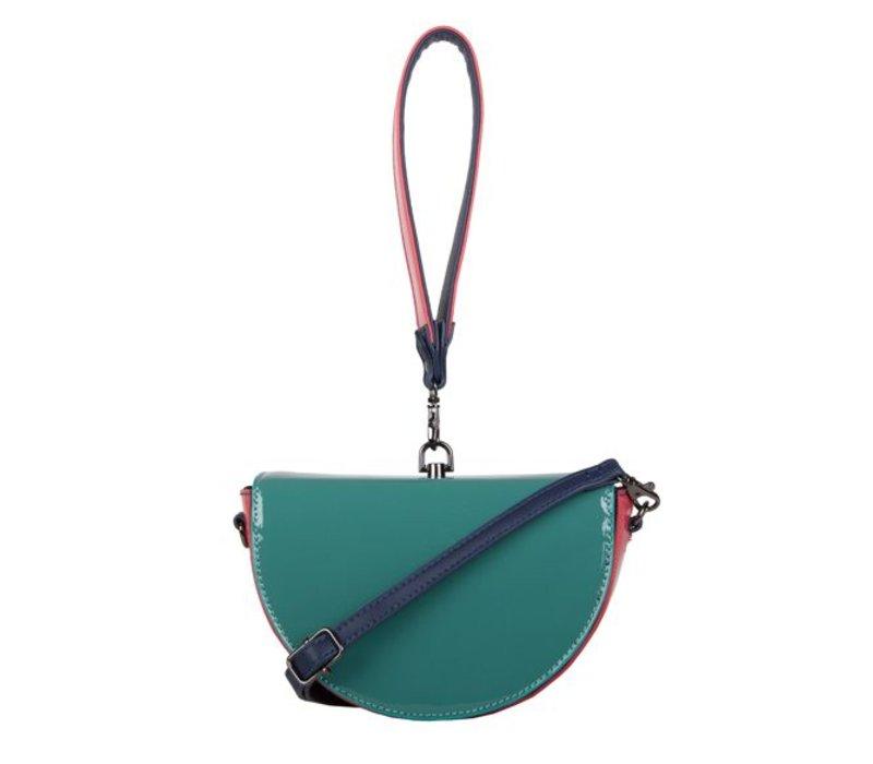 Handbag Lily (emerald green)