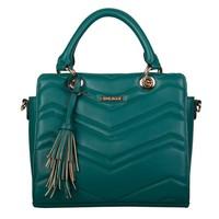 Handbag Calanthe (emerald green)