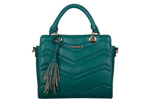Handbag Calanthe (emerald green)