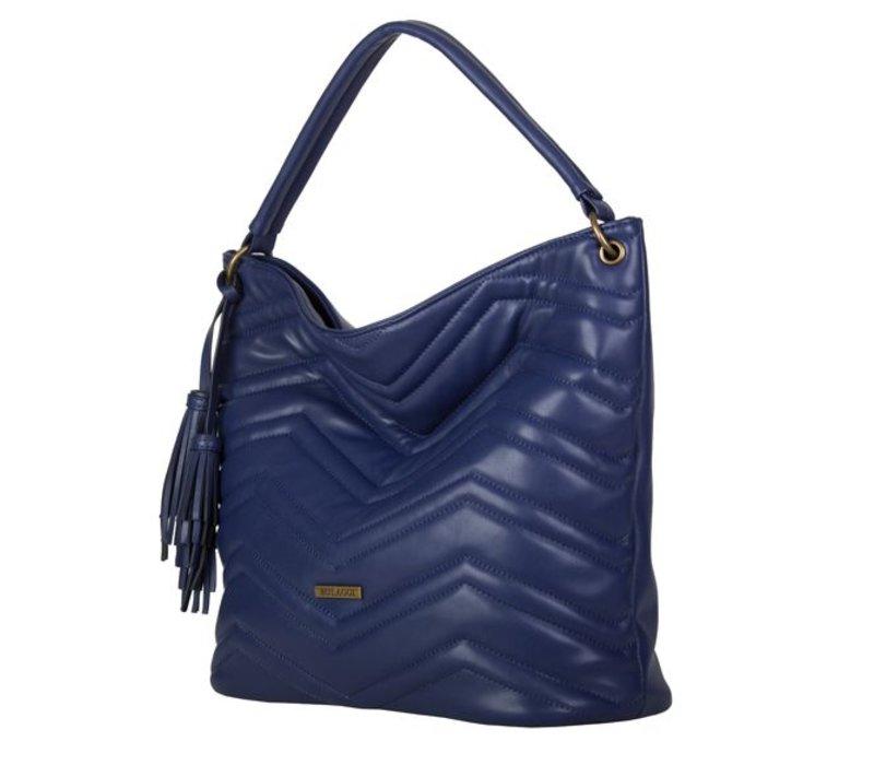 Hobo schoudertas Calanthe (blauw)