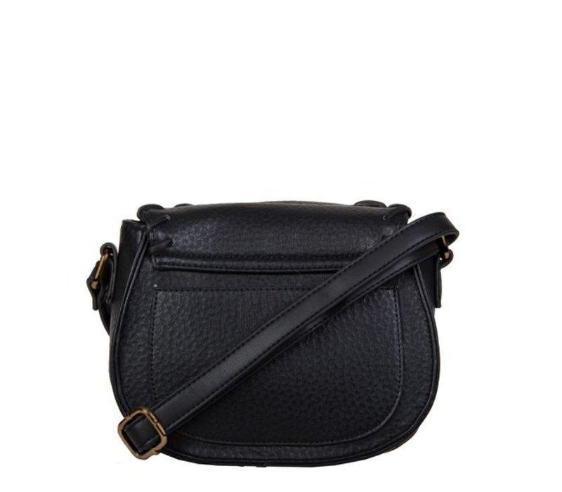Crossbody bag Freesia (black)