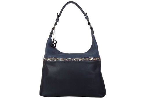 Hobo Shoulder bag Zinnia (dark blue )