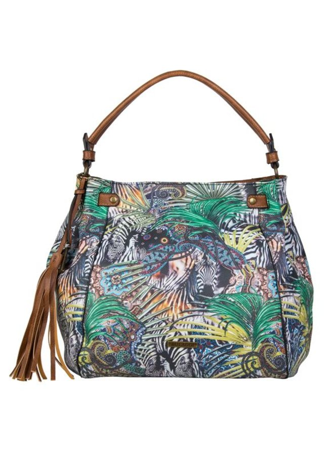 Shopping bag Jungle (multi colour)