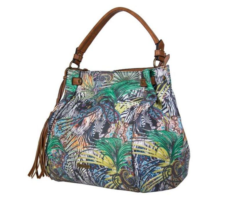 Shopper Jungle (multikleur)