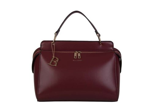 Handbag Kayla (burgundy red)