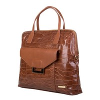 Laptop bag Cynthia (brown)