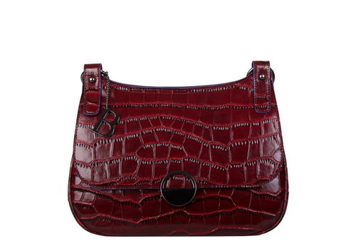 Crossbody tas Daisy (bordeaux rood)